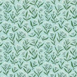Blue Wildflower Pattern