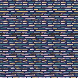 Brushstrokes Pattern-Navy - Sample Kit