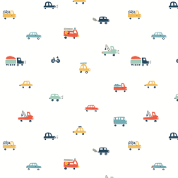 Colorful Cars Pattern - Sample Kit