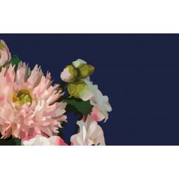 Navy & Pink Floral Bouquet - Sample Kit