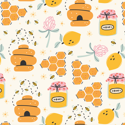 Honey Bee Pattern