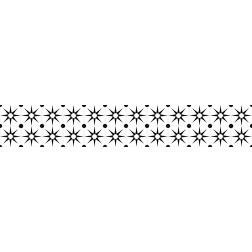 Mosaic Stars - Stair Wrap