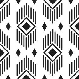 Aztec Diamonds Pattern