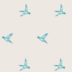 Blue Bird Pattern