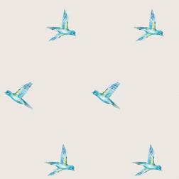 Blue Bird Pattern - Sample Kit