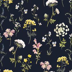 Delicate Wildflowers Pattern