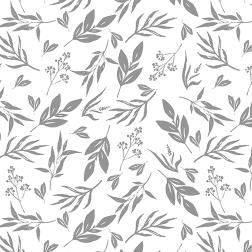 Leaves & Stems Pattern