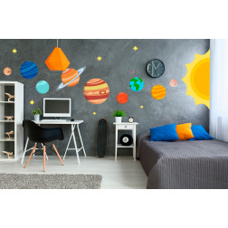 Planets Decal Set