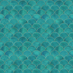 Turquoise Tile Pattern