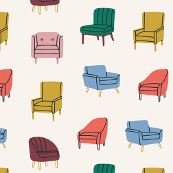 Vintage Chair Pattern