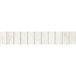 Whitewash Vertical Shiplap - Stair Wrap